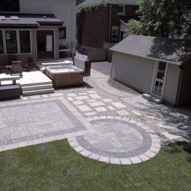 Backyard Patio and Resodding