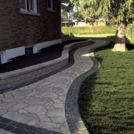 Front Path Steps