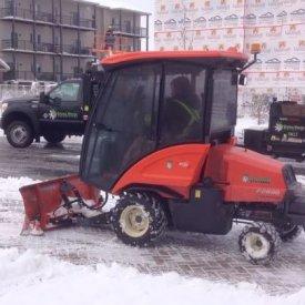 Side walk snow removal