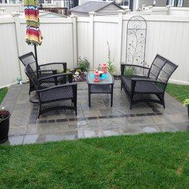 Simple Backyard Patio