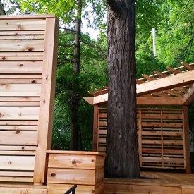Full Backyard Deck, Fence & Pergola