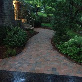 Front Entrance Walkway and Driveway Extension